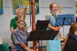 Leila Schoeneich Blockflötenorchester Lankwitz Steglitz